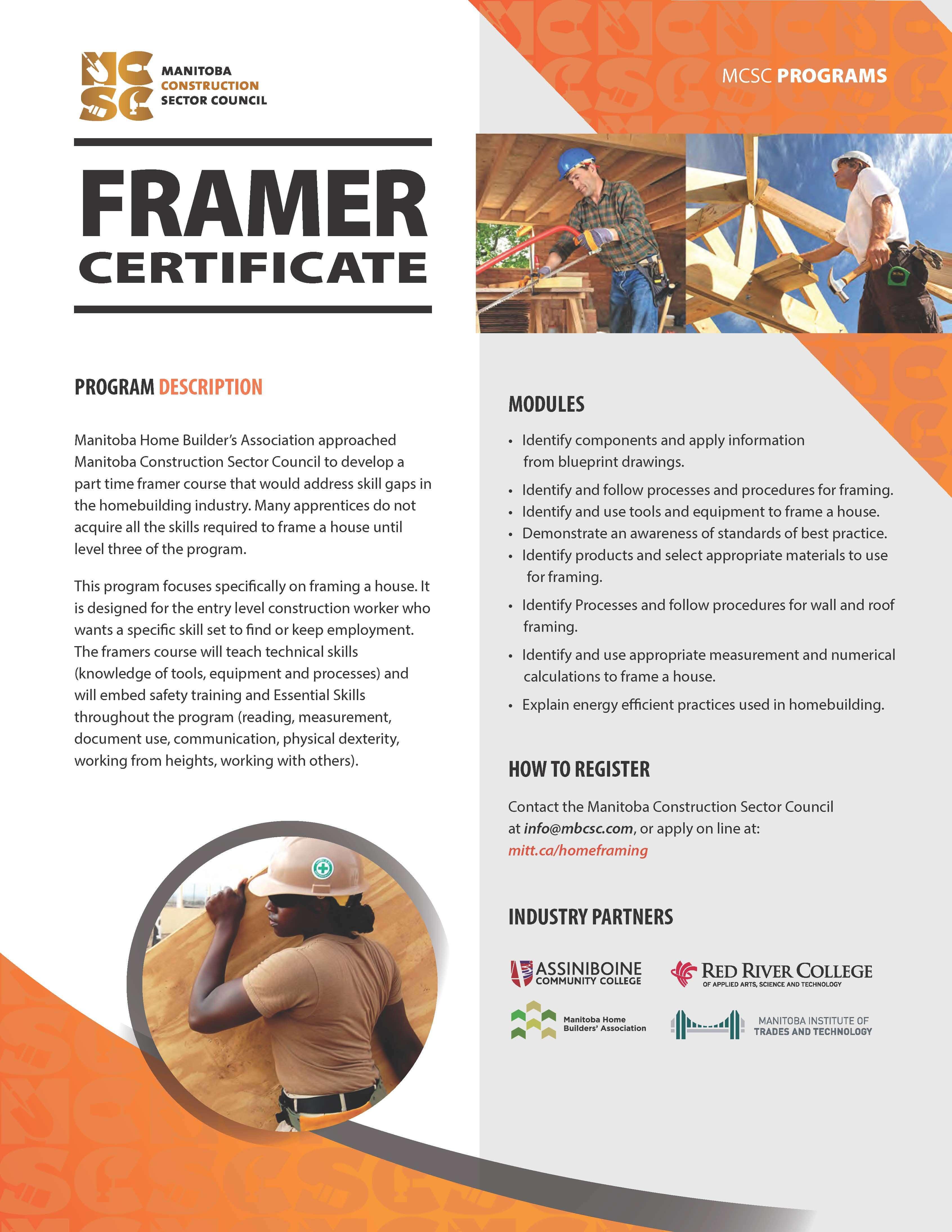 Framer Certificate